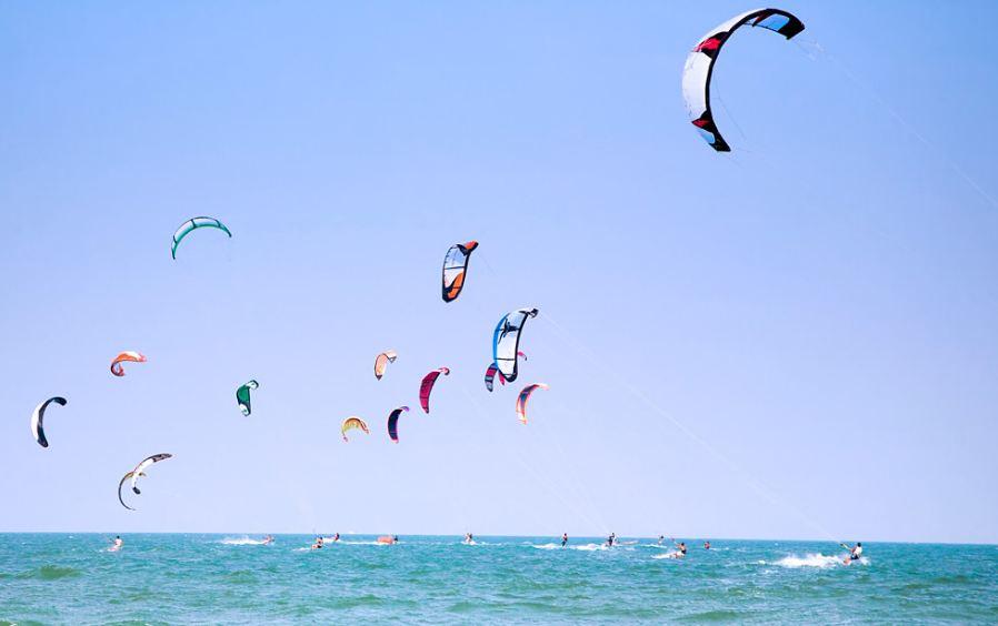 Kitesurfing in Koh samui