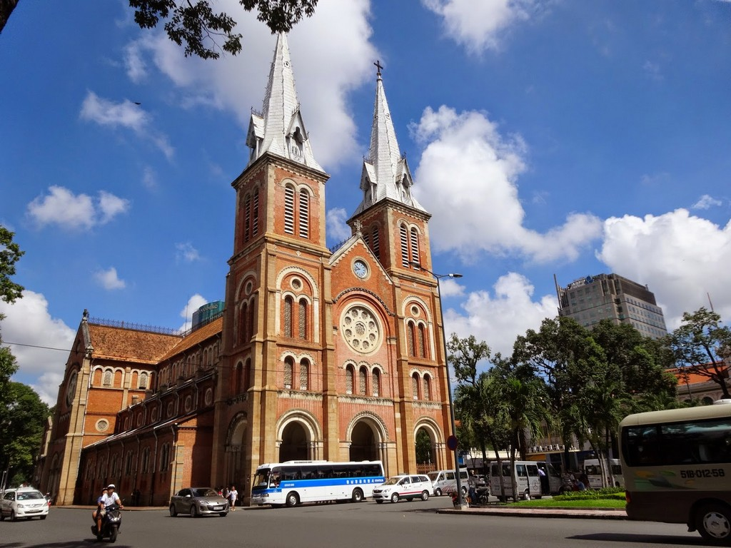 Notre Dame Cathedral 1 ho chi minh tourist attractions best places to visit in ho chi minh top places to visit in ho chi minh