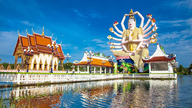 Wat Plai Laem1 2 days in koh samui koh samui itinerary blog
