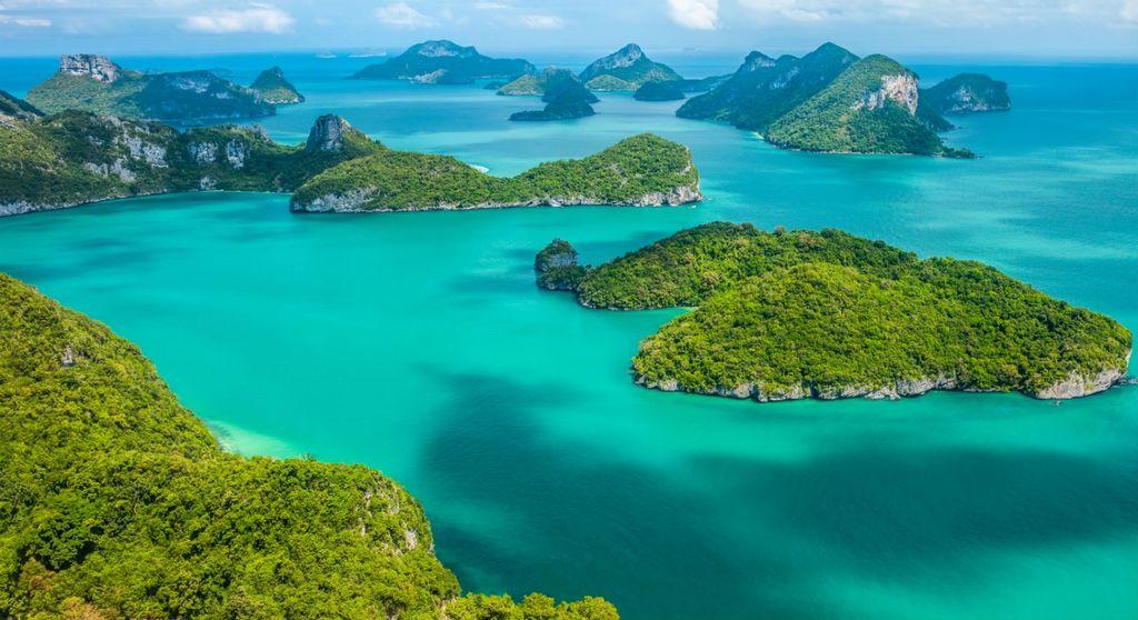 Ang Thong National Marine Park, Koh Samui Thailand