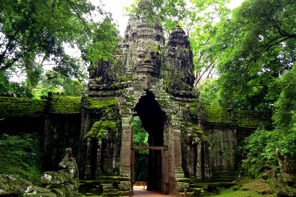 Angkor Thom -siem reap-combodia2 siem reap itinerary 4 days 4 days in siem reap what to do in siem reap in 4 days
