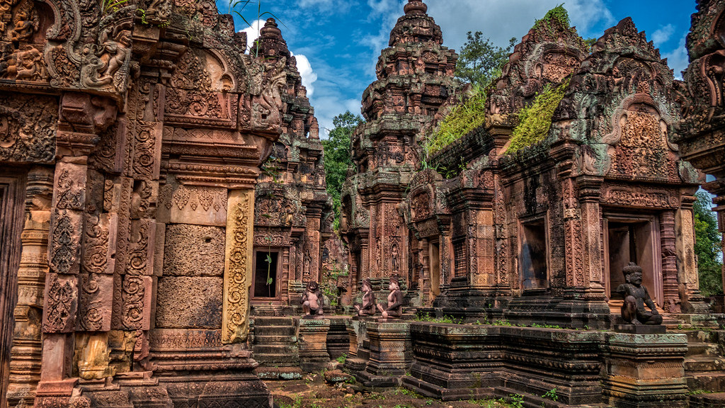 Banteay Srei temple-combodia siem reap itinerary 4 days 4 days in siem reap what to do in siem reap in 4 days
