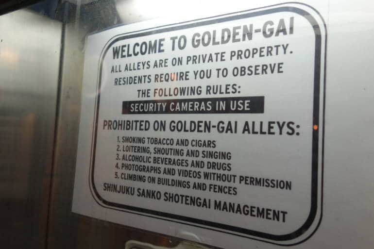 Golden-Gai-Rules