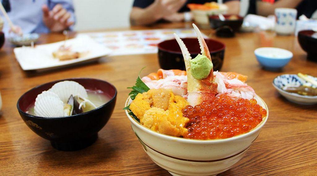 Kaiseniya Otaru Isozushi restaurant hokkaido2