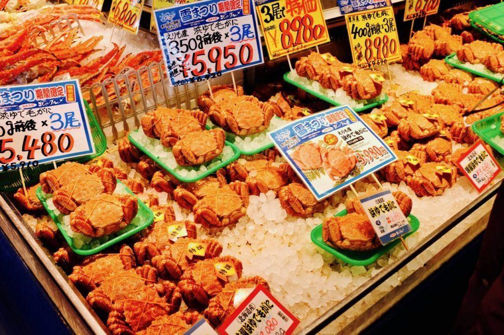 Sapporo Jyoga Ichiba-curb market-hokkaido3