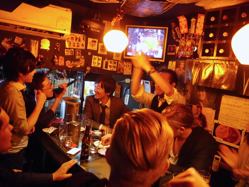 golden gai bars