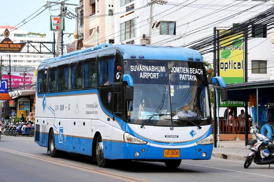 Beach Bus -pattaya-thailand