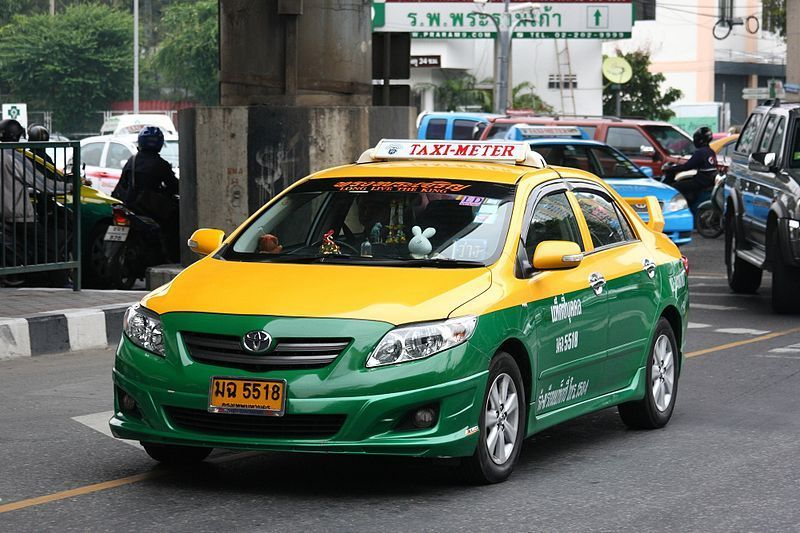 taxi from Suvarnabhumi airport to pattaya Image by: Pattaya blog.