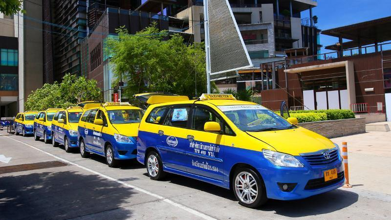 taxi in pattaya-thailand