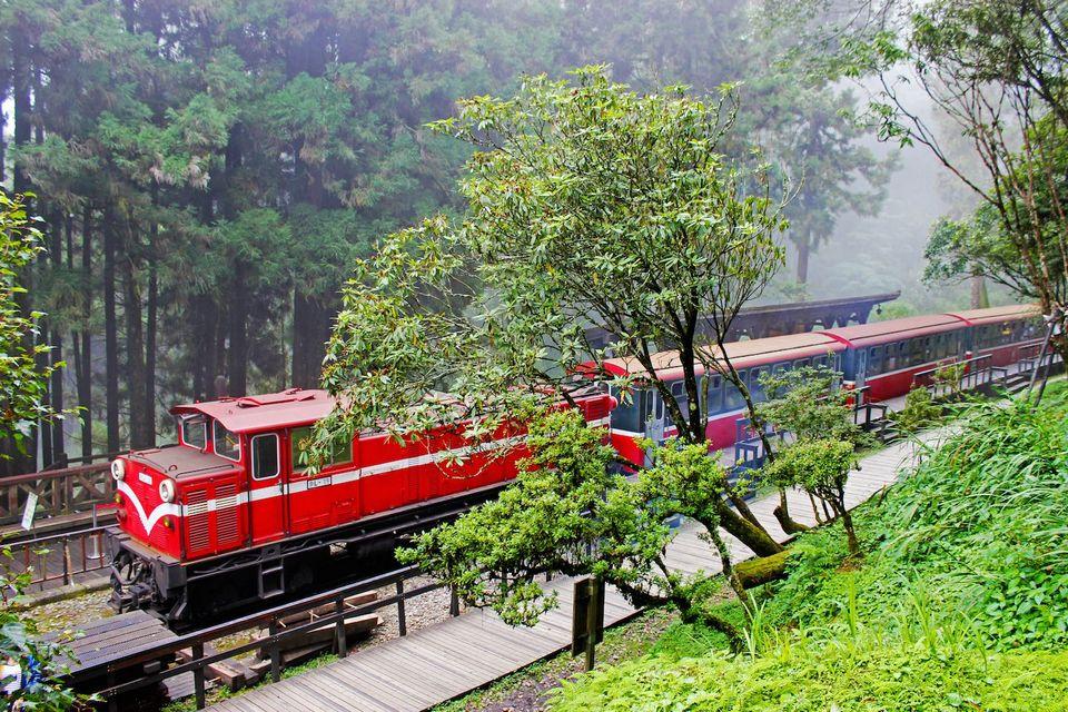 Alishan railroad
