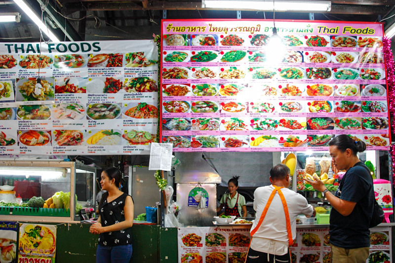 Anusarn Food Court-chiangmai-thailand1 Image credit: chiang mai food blog.