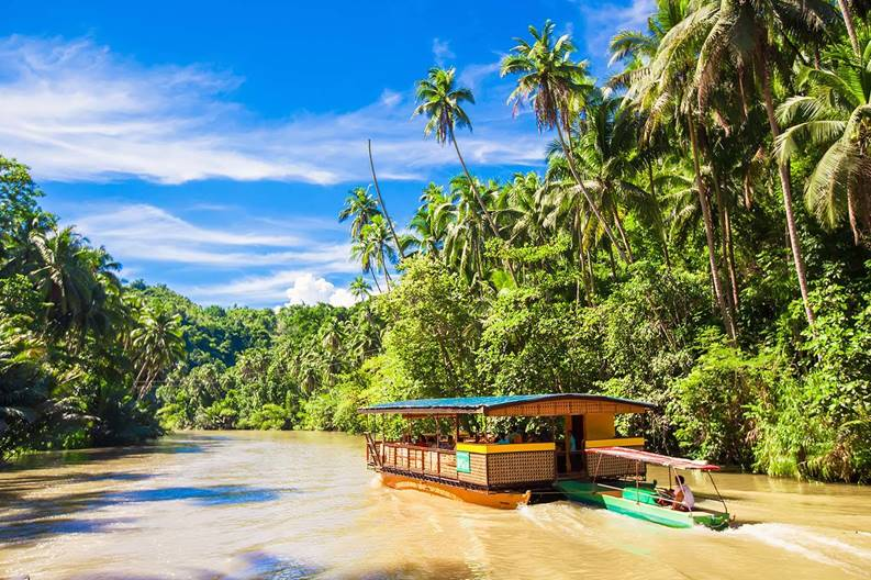Locboc River sail bohol travel blog bohol travel guide bohol activities things to do in bohol island