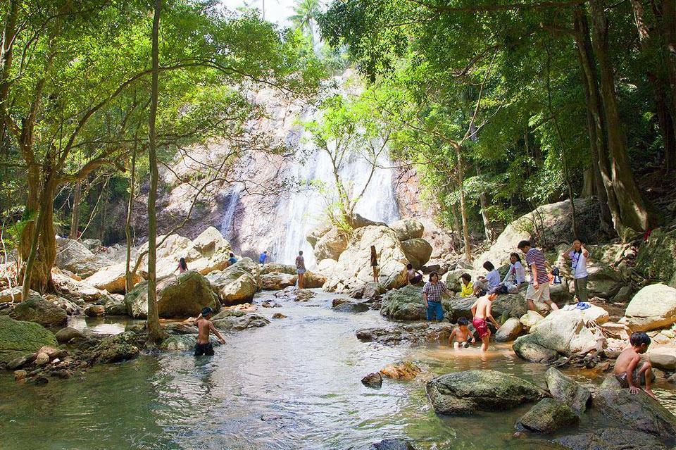 Namuang-Waterfall2 Picture: koh samui travel blog.