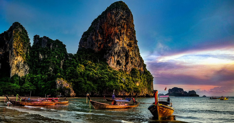 Railay-beach-tropical-island2 railay beach things to do in railay railay things to do railay activities