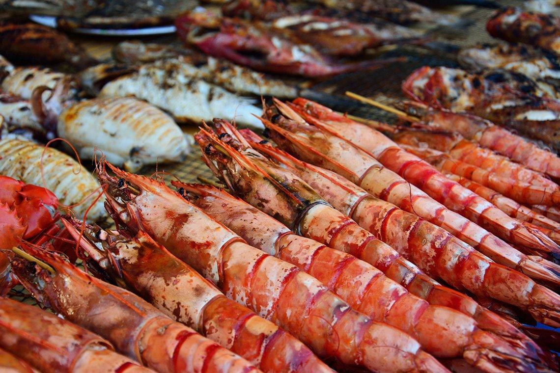 Street food on Koh Samui