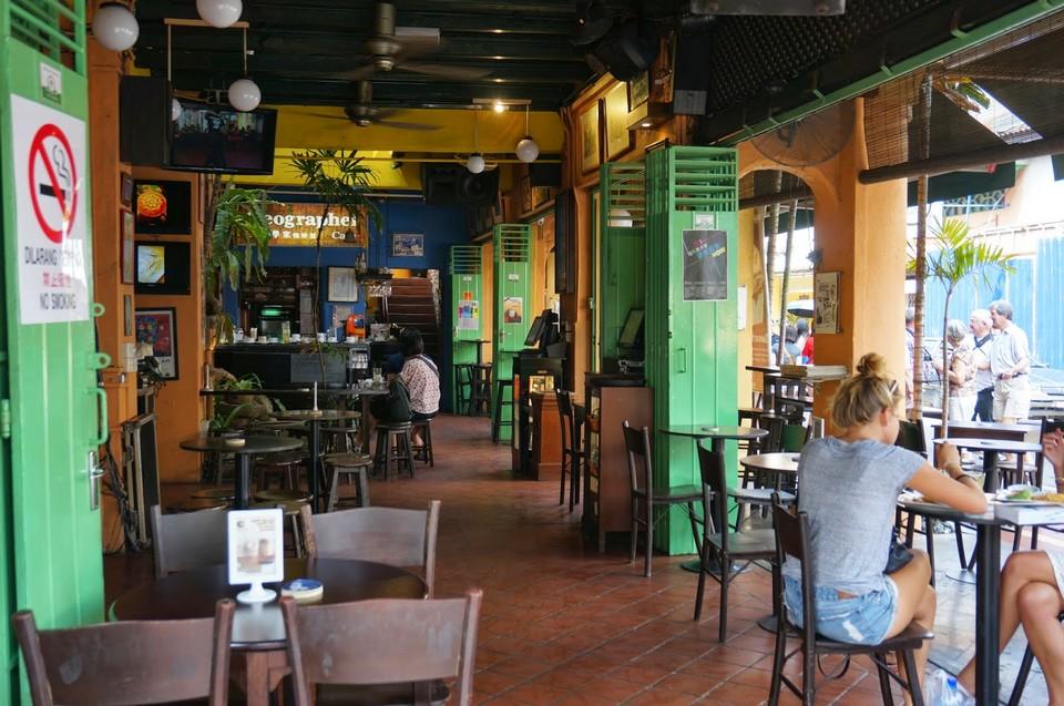 Geographer Cafe, Malacca