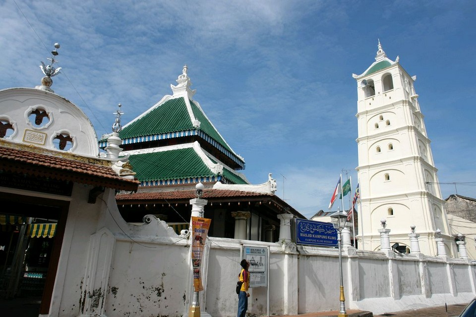 Kampung Kling Mosque Photo: malacca travel guide.