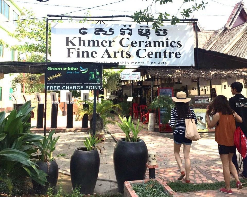 Khmer Ceramic Center 1 shopping in siem reap what to buy in siem reap siem reap souvenirs