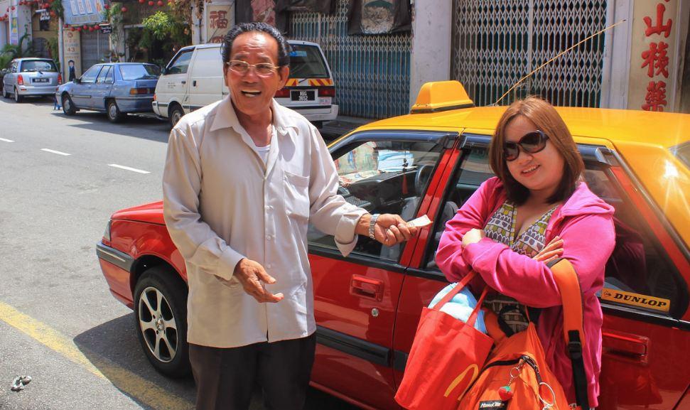 Taxi in malacca