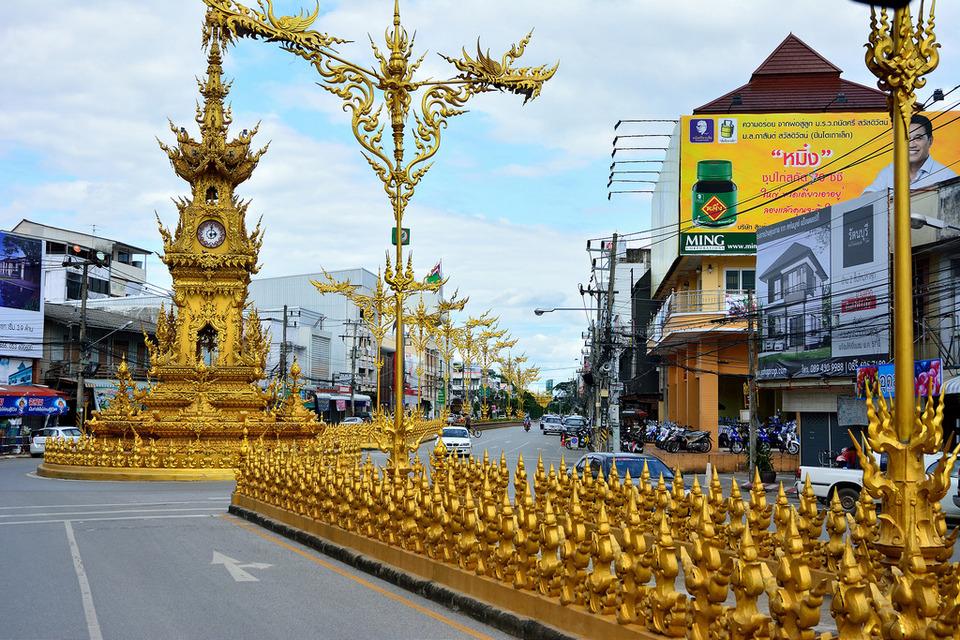 Chiang Rai Clock Tower-chiang rai chiang rai travel blog chiang rai province chiang rai travel guide chiang rai places to visit