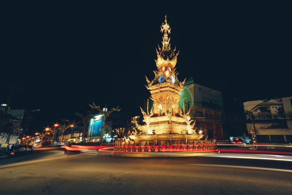 Chiang Rai Clock Tower-chiang rai1 chiang rai travel blog chiang rai province chiang rai travel guide chiang rai places to visit