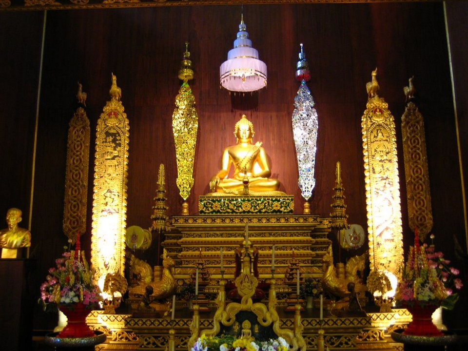 Wat Phra Kaew Chiang Rai-thailand
