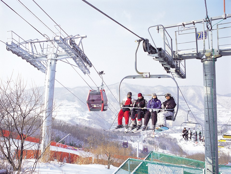 vivaldi-park-ski-world-gangwon-korea-tours3 skiing in korea skiing in south korea best ski resorts in korea best ski resort near seoul