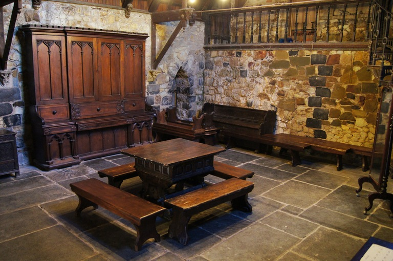 Montsalvat-great hall