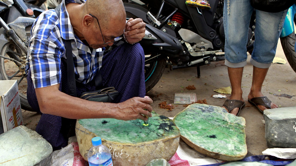 Myanmar earns $1.3 billion from jade exports
