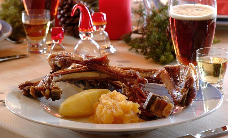 norway christmas dish Photo: best places to spend christmas in europe blog.