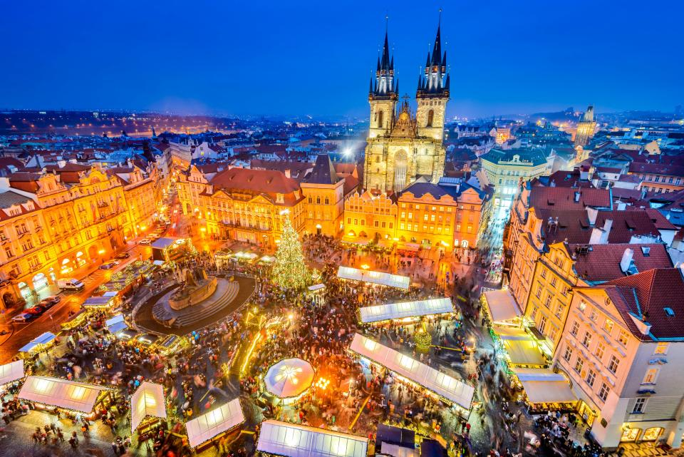 prague market christmas Credit: best christmas holiday destinations blog.