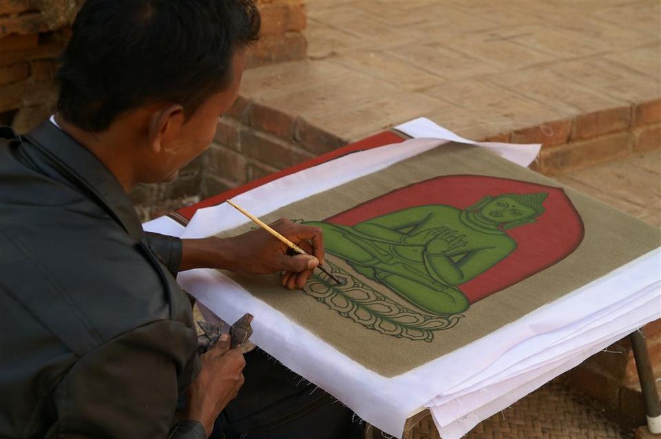sand painting-myanmar2
