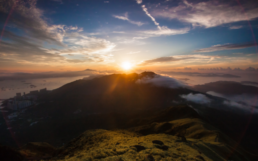 Lantau Sunrise1 hiking hong kong best hiking trails in hong kong easy hiking trails in hong kong