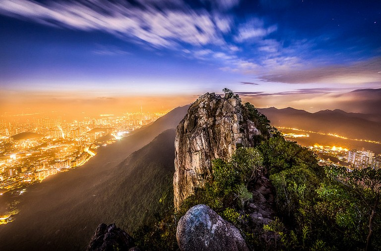Lion Rock hiking hong kong best hiking trails in hong kong easy hiking trails in hong kong