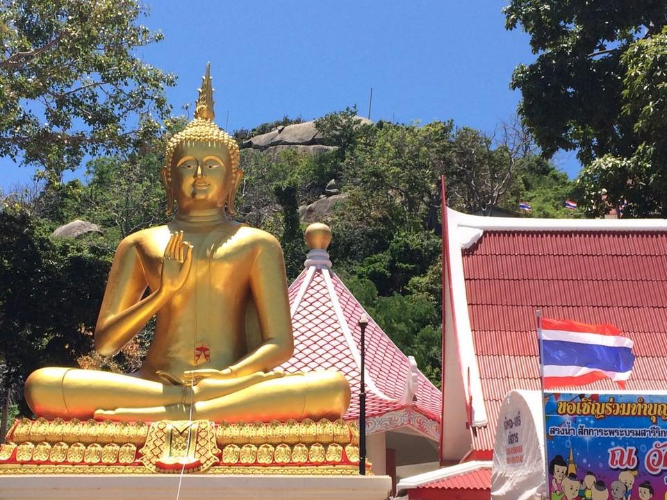 khao takiab Buddha statue
