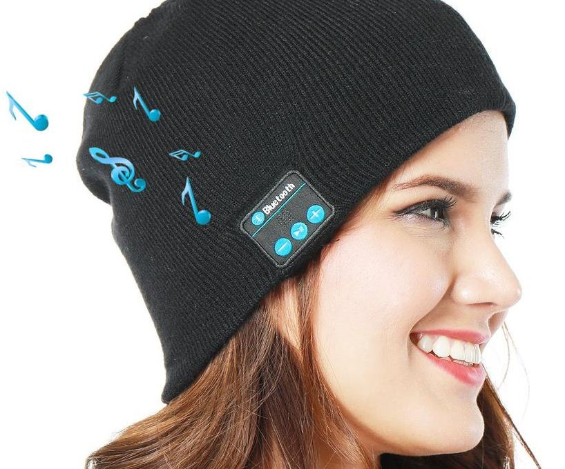 Bluetooth-Winter-hat-what to pack for winter trip how to pack for cold weather in a carry on