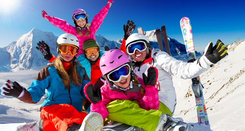 skiing-with-teenagers
