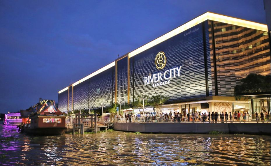River City shopping mall bangkok best shopping malls in bangkok top shopping malls in bangkok bangkok shopping guide