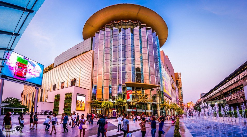 Siam Paragon shopping mall thailand