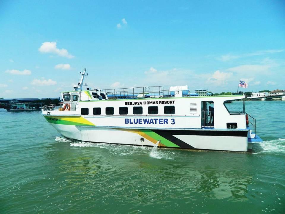blue water express-tioman-malaysia