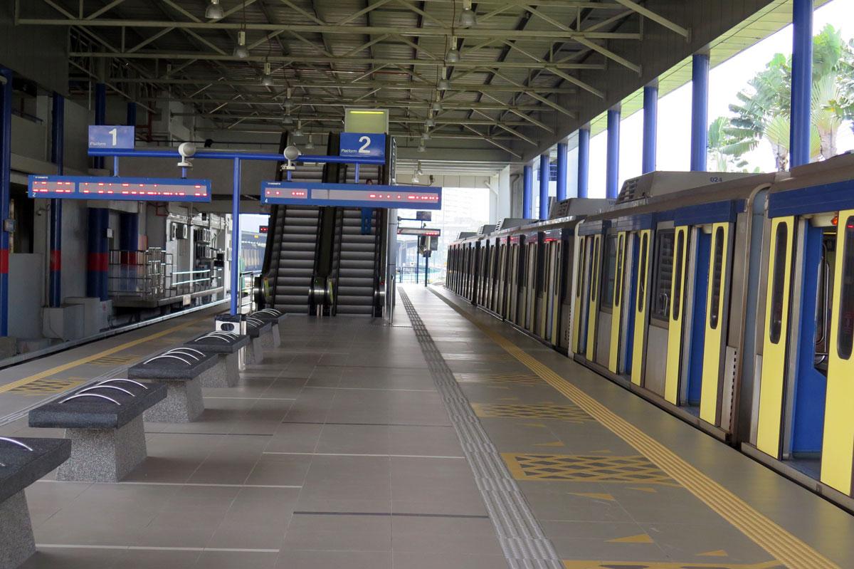 Ampang LRT station 2