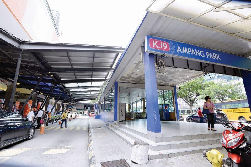 Ampang LRT station