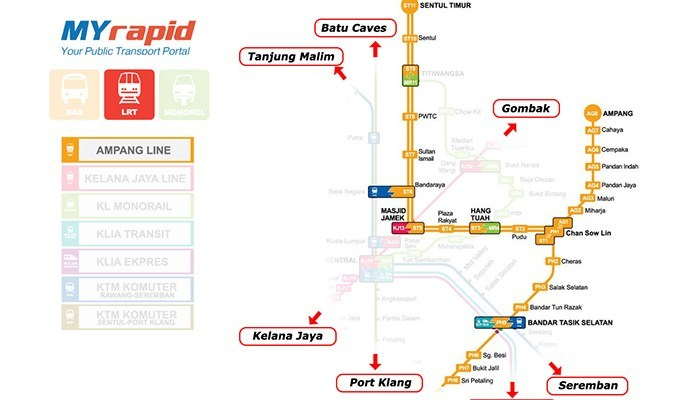 kl-train-lrt-ampang lrt kuala lumpur rapidkl lrt route lrt kuala lumpur route kuala lumpur light rail transit