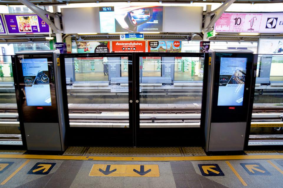Asok station-bangkok