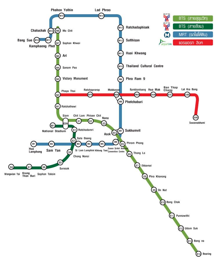 Light Industrial Near Mrt: How To Get Around Bangkok By BTS Bangkok, MRT Bangkok