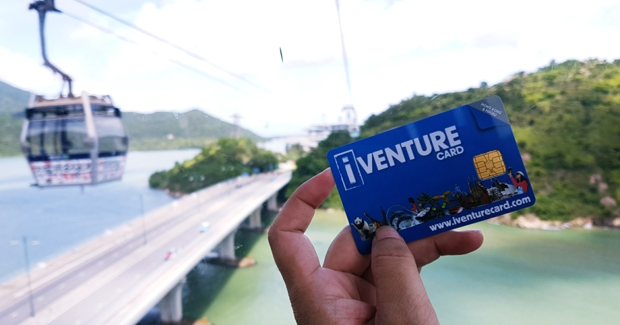 iventure card-hongkong Credit: hong kong tourist card blog.