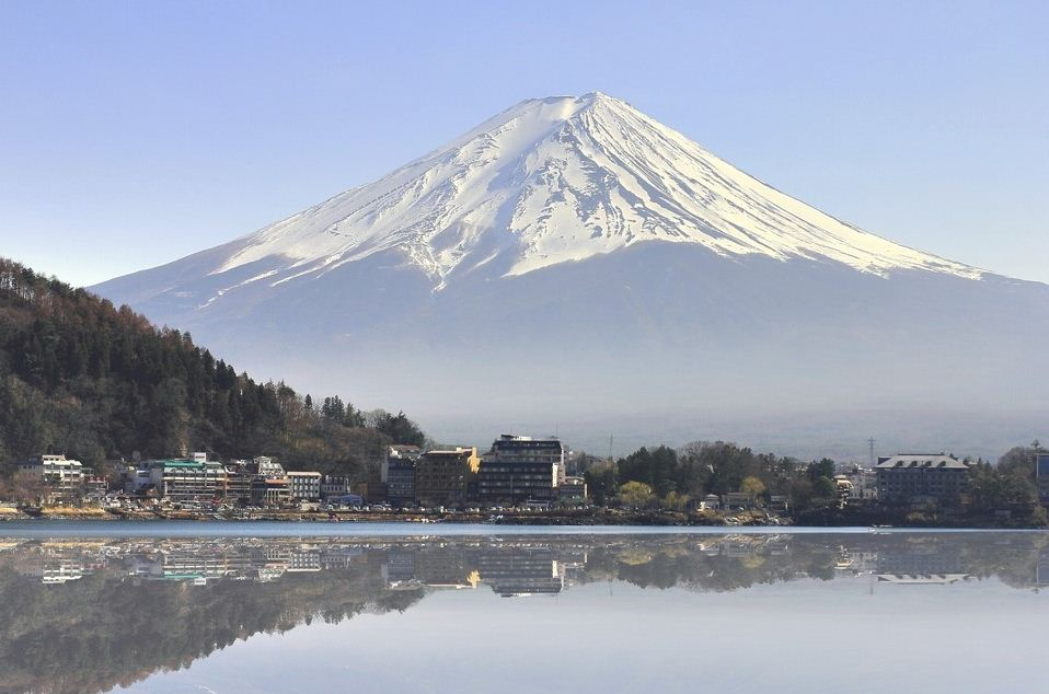 Lake Kawaguchi-ko mt fuji cover