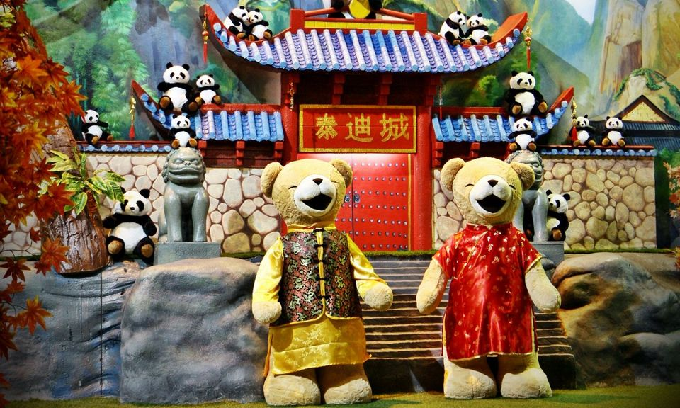 Teddy Bear Museum-pattaya-thailand top places to visit in pattaya best places to visit in pattaya top things to do in pattaya