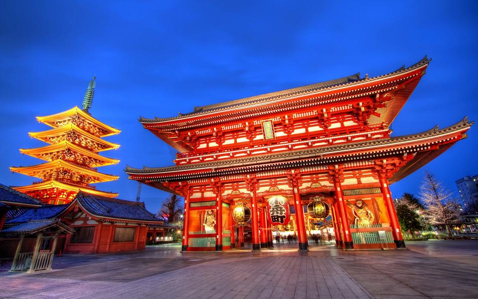 Asakusa Sensoji-temple-tokyo1 tokyo subway 24 hour ticket tokyo metro 24 hour ticket 24 hour subway ticket tokyo