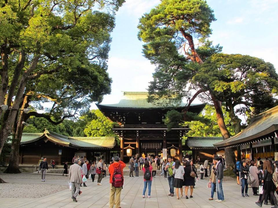 Meiji Shrine-tokyo2 Credit: tokyo metro 24 hour ticket blog.